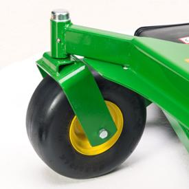 Pivotupphängda stödhjul