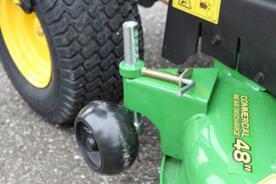 Däckhjul med snabbkoppling