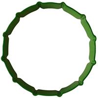 Rulle med 12 ribbor