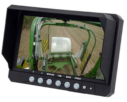 Dedikerad monitor med en enda kameravy