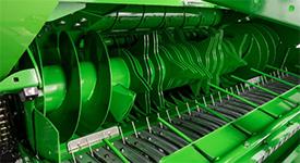 En enkel axel för rotor och samlingsskruvar