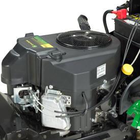 V2-motor med en effekt på 12,2kW vid 3100 varv/min