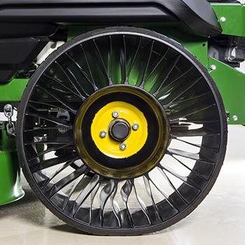 Michelin X Tweel Turf-däck, sida