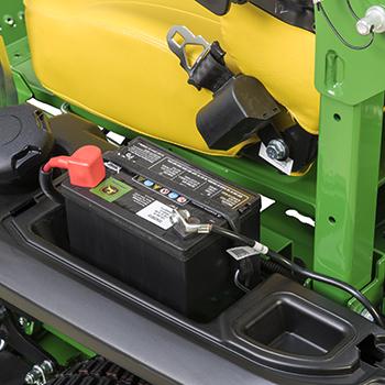 Batteri med 340 kallstartsampere (CCA)