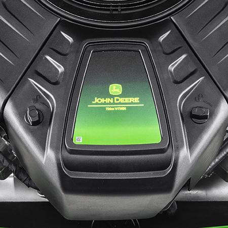 Rensningsport för motor och luftfilterlock