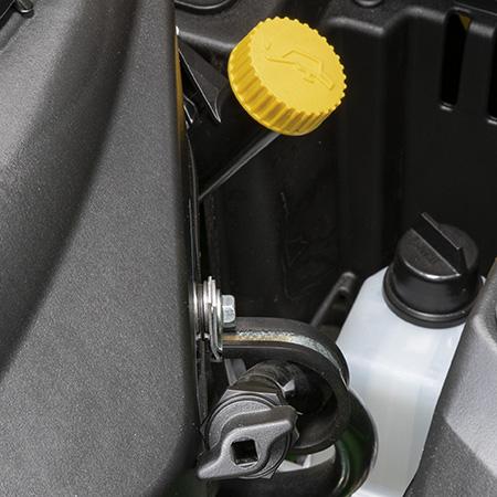 Rör för påfyllning/kontroll och avtappning av olja