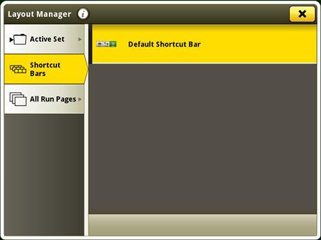 Aplicación del administrador de configuración