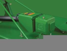 Garantía de cinco años para todas las cajas de engranajes de las segadoras giratorias