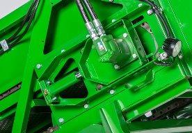 Tensionamiento de la cadena con cilindro engrasado