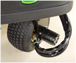 Sistema de tracción en tres ruedas a tiempo completo