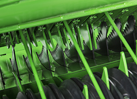 Rotor primario de la cámara de paca