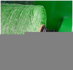 Tapones de la envoltura de superficie Edge-to-Edge en una empacadora con CoverEdge