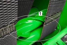 Conjunto de sinfín/rodillos escalonados