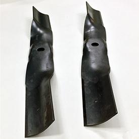 Cuchillas de plataforma de corte que se envían con el conducto del ensacador trasero