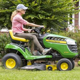 Corte del tractor E100