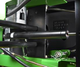 Amortiguador de las palancas de control de movimiento