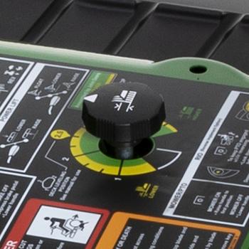 Control de altura de corte de la plataforma de corte
