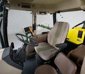 Cabina con capacidad JDLink preparada para GreenStar