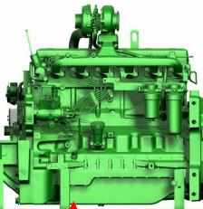 Motor PowerTech 6603 de 6 cilindros