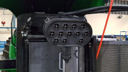 Filtro de aire con doble núcleo