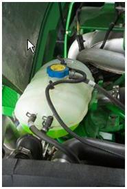 Depósito del refrigerante de la Serie 6D
