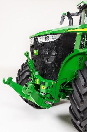 Tractor de la serie 7R con elevador hidráulico delantero