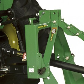 Enganche rápido Quick-Hitch iMatch con acoplamiento de segadora rotativa